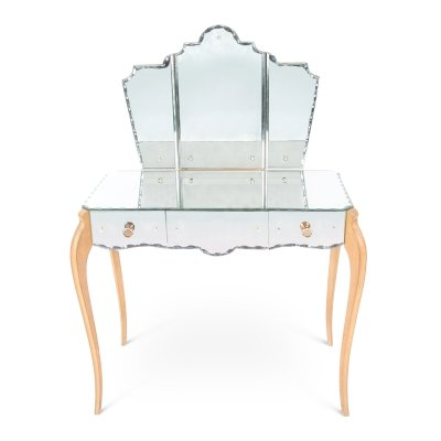 Mid-Twentieth Century French Mirror Dressing Table