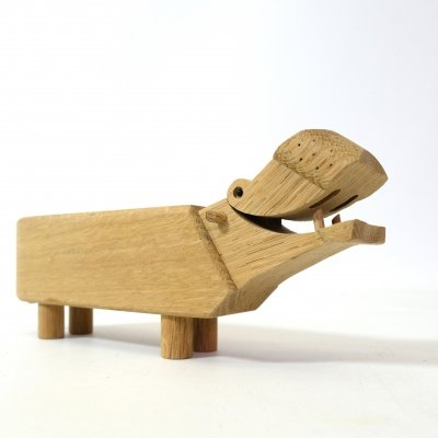 Wooden animal figure by Kay Bojesen, 1970s