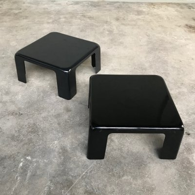 Two 'Gatti' Side Tables by Mario Bellini for C&B Italia, 1960s