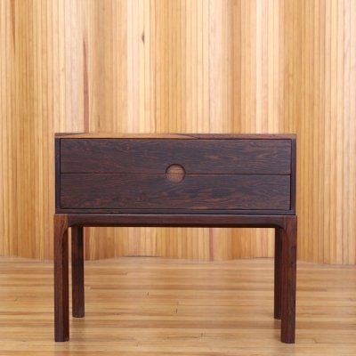 Kai Kristiansen model 384 rosewood low chest by Aksel Kjersgaard Denmark