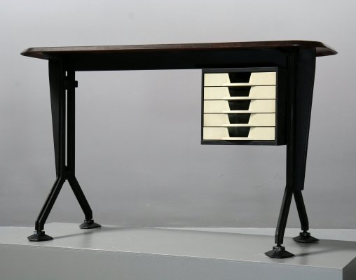 Olivetti Arco Desk by BBPR, Italy 1960s