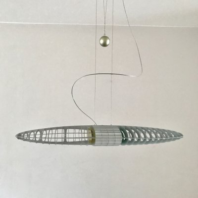 Titania D17 hanging lamp by Paolo Rizzatto & Alberto Meda for Luceplan, 1980s