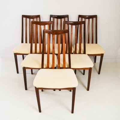 Set of 6 G Plan Fresco Dining Chairs, 1960s