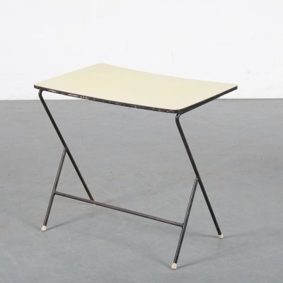 Minimalist side table, the Netherlands 1950s