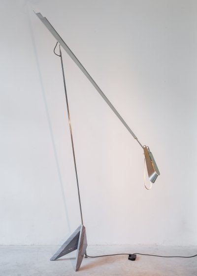 Large Floor Lamp 'Argo' by Kurt Ziehmer, Germany 1980s