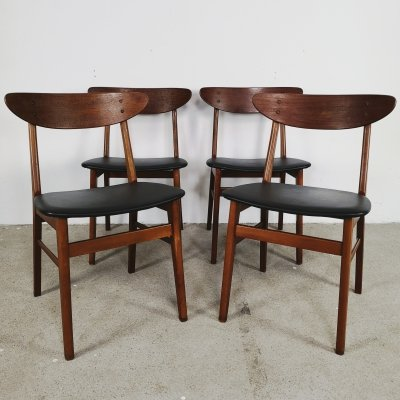 Set of 4 Danish Farstrup chairs, 1960s