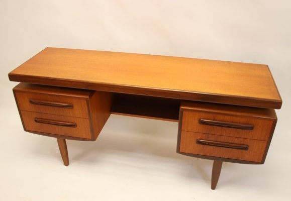 Teak writing desk by G Plan, 1960s