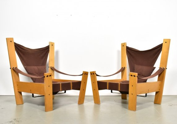 Pair of lounge chairs by John de Haard for Gebroeders Jonkers, 1960s