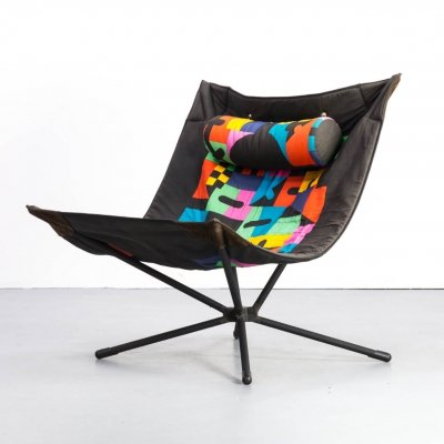 80s Alberto Salviati & Ambrogio Tresoldi 'Miamina' Chair for Saporiti