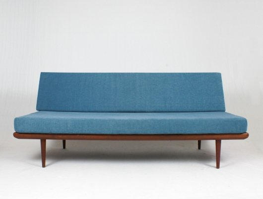 Long Minerva sofa by Peter Hvidt & Orla Mølgaard Nielsen for France & Son, 1960s