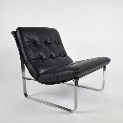 Sling Lounge Chair by Ingmar Relling for Westnofa, 1970s