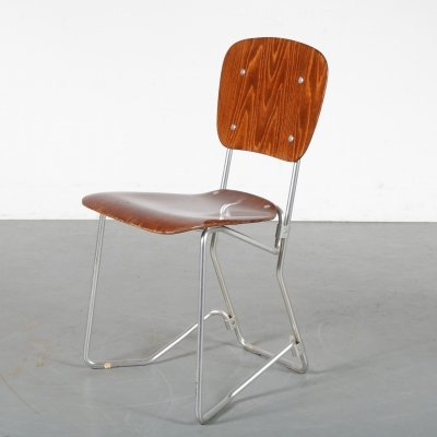 1950s 'Aluflex' Chair by Armin Wirth for Hans Zollinger Sohre