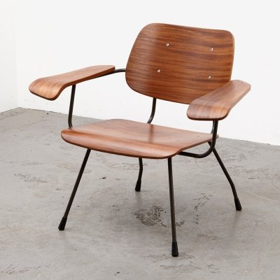 Rare Tjerk Reijenga Easy Chair 8000 for Pilastro, 1962