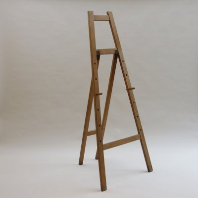 Large Vintage Wooden Easel by ESA Esavian, 1960s