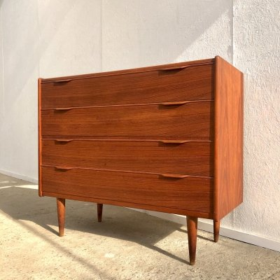 Teak chest of drawers by Fredericia, Denmark 1960s