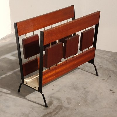 Teak Magazine Holder by Brovorm Haarlem, 1960s