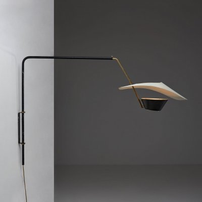 Pierre Guariche 'Cerf Volant' Wall Lamp, France 1953