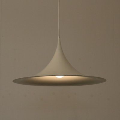 Semi hanging lamp by Claus Bonderup & Torsten Thorup for Fog & Mørup, 1960s