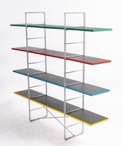 Swedish Guide Shelving Unit by Niels Gammelgaard for Ikea, 1980s