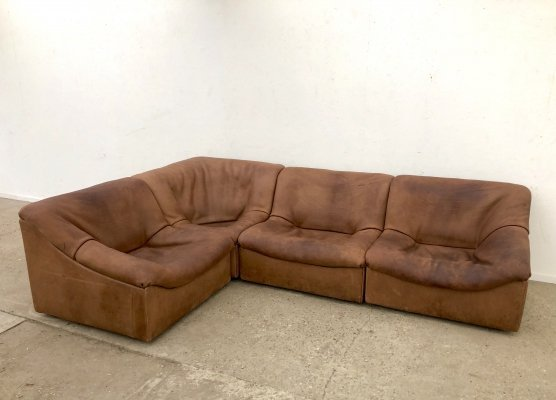 Vintage De Sede 'DS46' sofa, Swiss design 1970s