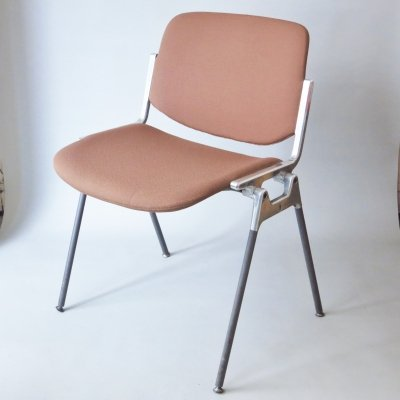 4 x DSC dining chair by Giancarlo Piretti for Anonima Castelli, 1960s