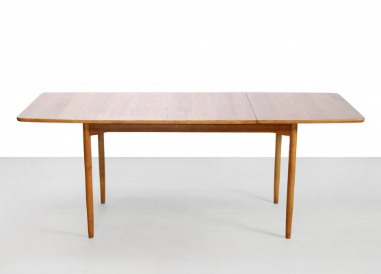 Rare Hans Wegner for Andreas Tuck drop leaf table