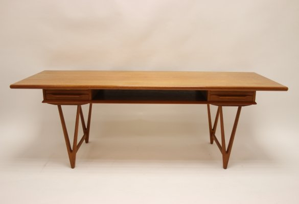 Coffee table by EW Bach for Möbelfabrikken Toften, 1960s