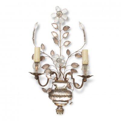 French Early Twentieth Century Baguès Wall Sconce