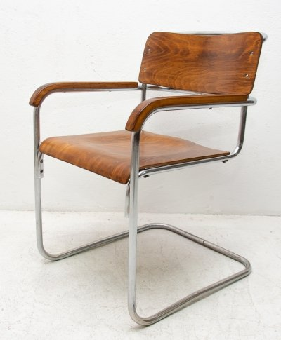 Arm chair by Robert Slezák for Tomáš Baťa, 1930s