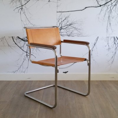 Cantilever Armchair S34 by Mart Stam for Thonet, 1980s