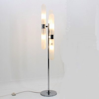Italian vintage floor lamp by Leucos, 1960s