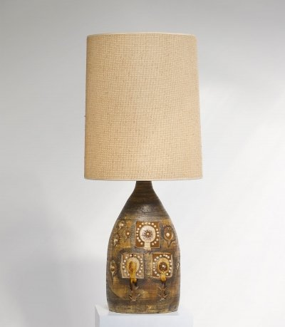Ceramic lamp by Georges Pelletier, 1960s