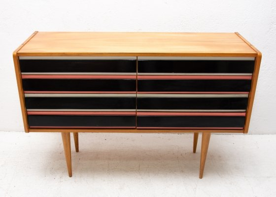 Rare prototype chest of drawers 457 by Jiří Jiroutek