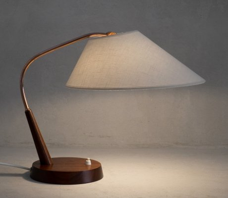 Swiss table lamp Type 33 by Temde Leuchten, 1960s