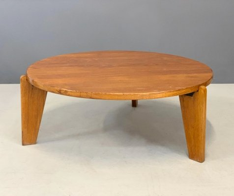 Mid century Africa Series Coffee Table by Jean Prouvè, 1950s