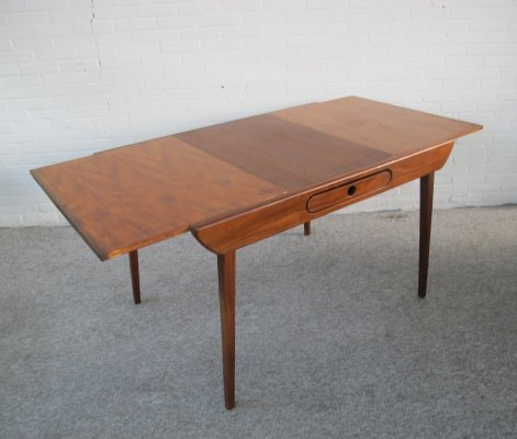 Vintage dining table by Louis van Teeffelen for Wébé, 1950s