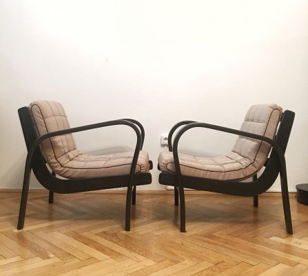 Pair of Armchairs by Karel Kozelka & Antonin Kropacek, 1940s