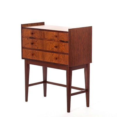 Vintage rosewood Danish chest of drawers, 1960's