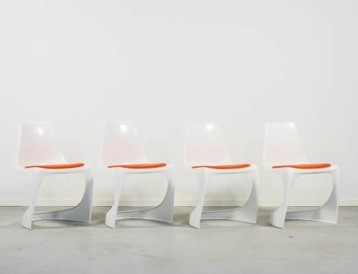 Set of 4 Steen Østergaard A-Line chairs by Cado