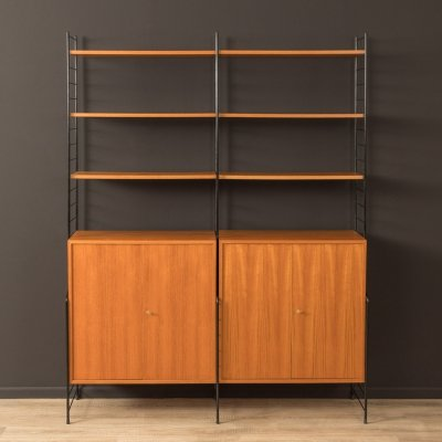 Wall shelving system by WHB, Germany 1960s