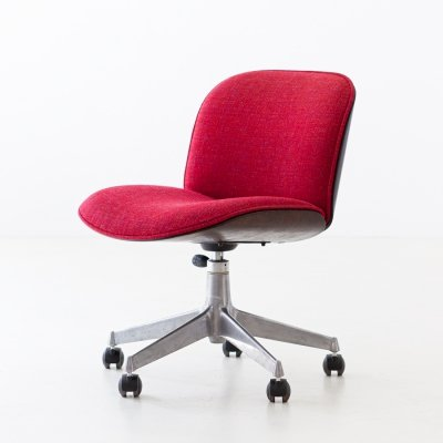 Swivel Desk Chair by Ico Parisi for MIM Roma, 1950s