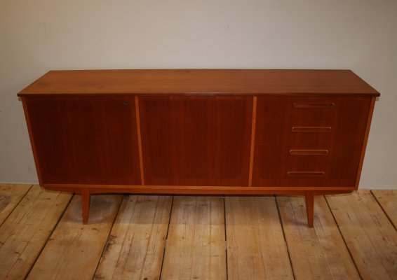 Danish Sideboard with 2 doors & 4 drawers