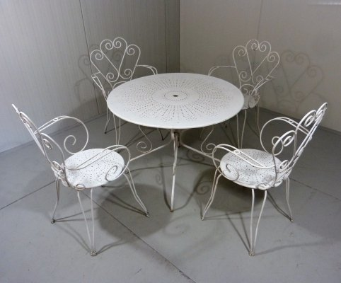 Garden Table & Chairs, 1950's