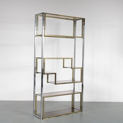 Metal room divider, Italy 1970s