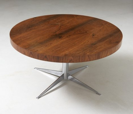 Low table in rosewood, Germany 1960's