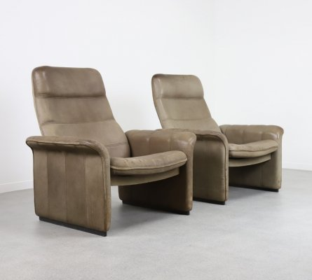 Pair of DS 50 lounge chairs by De Sede, 1970s