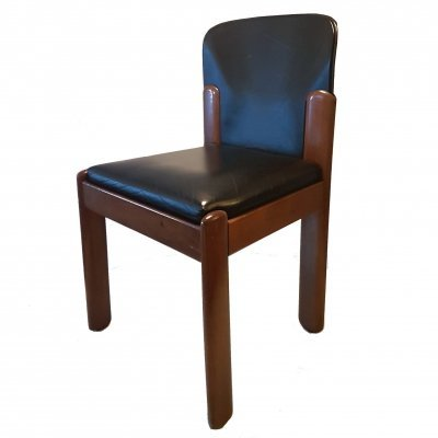 Rare model 330 side chair by Silvio Coppola for Bernini, Italy 1970s
