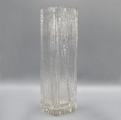 1970s Glass Vase by Martin Freyer for Rosenthal Studio Line