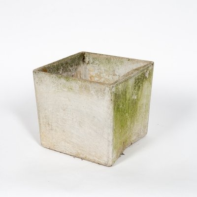Minimalist flower pot by Willy Guhl, 1950s
