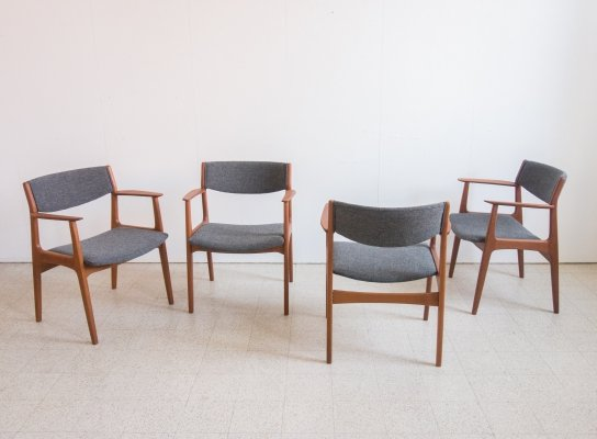 Set of 4 armchairs by Soro Mobelfabrik